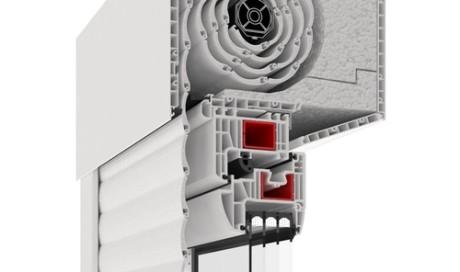 Sistema di tapparelle integrate in PVC
