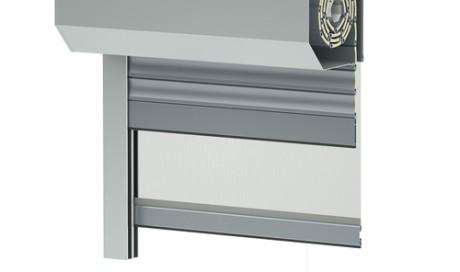 Sistema di tapparelle da esterno in alluminio